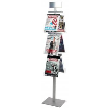 Brochure Stand Pyramid