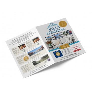 Leaflets 4-side A5