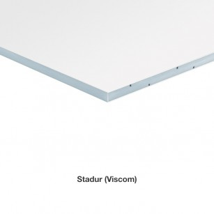 Stadur (lightweight foam sheet) Fixed Dimensions