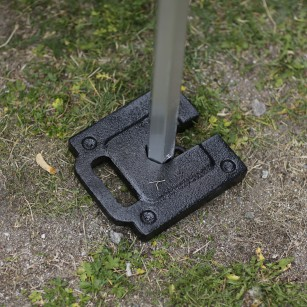 Stabilising weights for expo tent